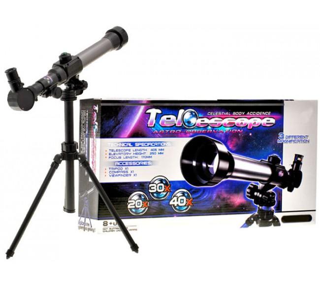 Teleskopas ant trikojo su...