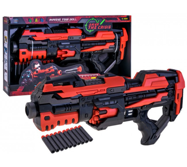 Šautuvas su minkštomis...