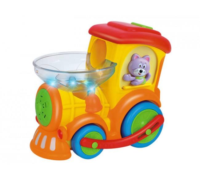 Žaislinis lokomotyvas su...