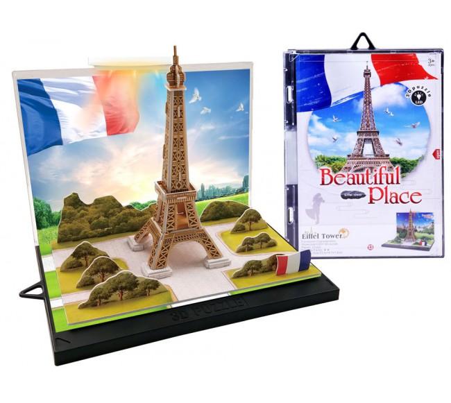 3D dėlionė Eifelio bokštas...