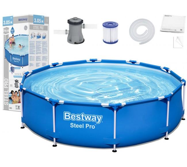 Baseinas Bestway  Steel Pro...