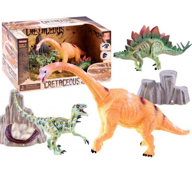 Dinozaurų figūrėlių rinkinys B