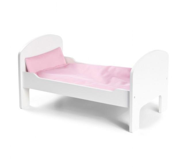 STOY medinė lovytė lėlėms