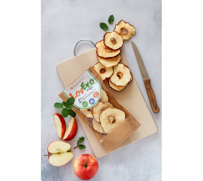 Džiovinti obuoliai 40gr