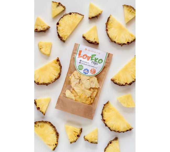 Džiovinti ananasai 80gr