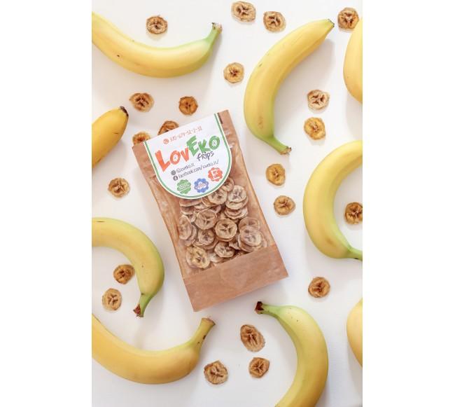 Džiovinti bananai 40gr