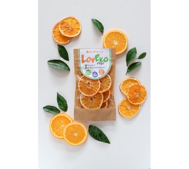 Džiovinti apelsinai 80gr