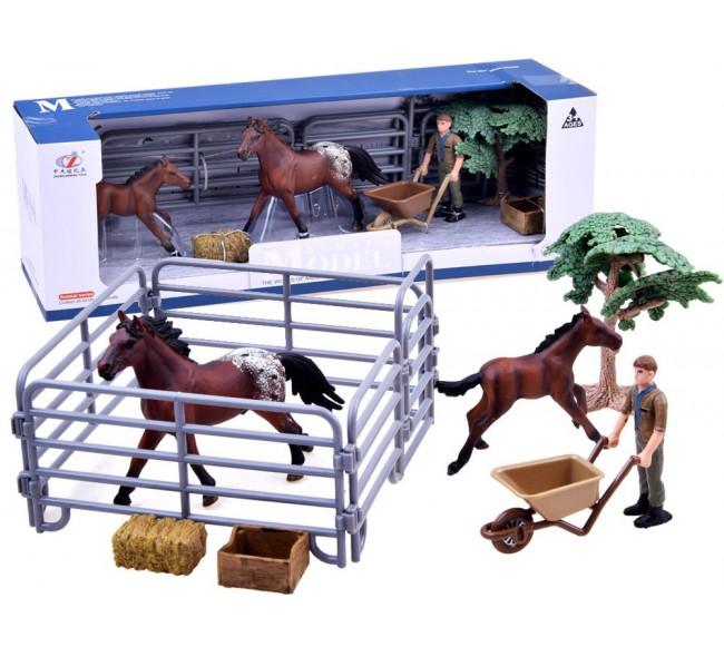 Figūrėlių rinkinys  Žirgų...