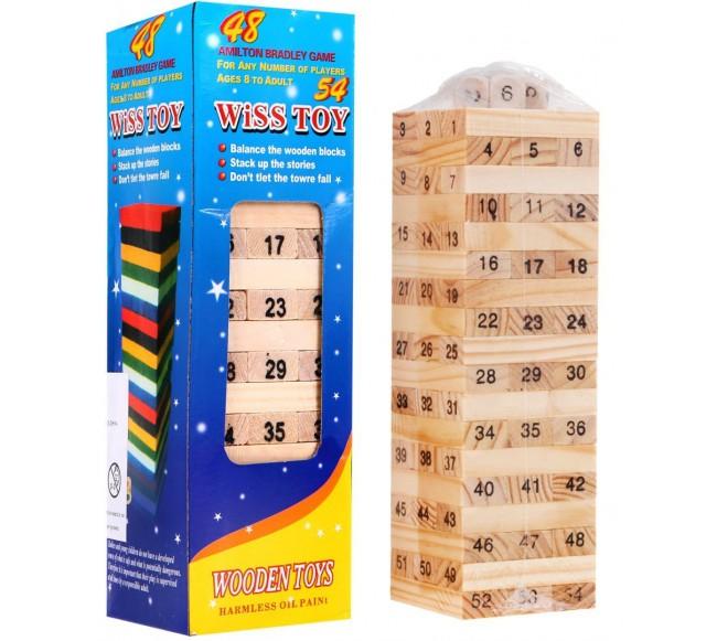 Jenga bokšto kaladėlės