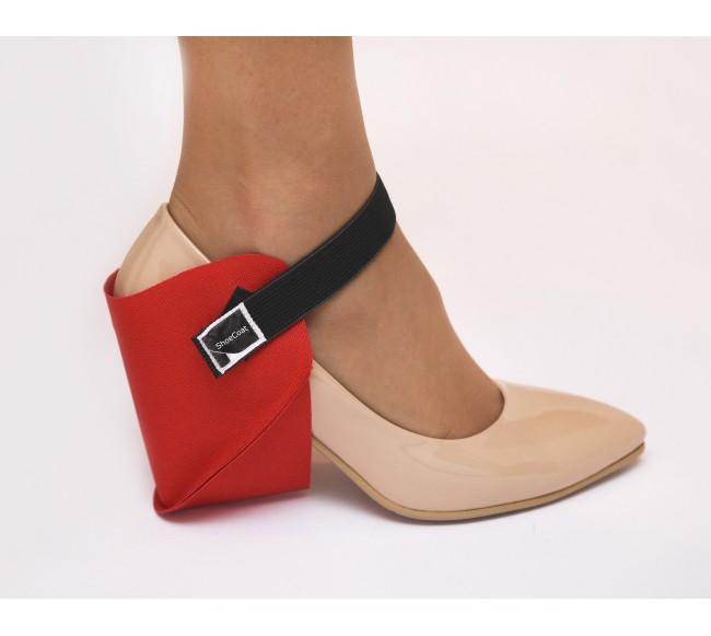 Raudona batų apsauga...