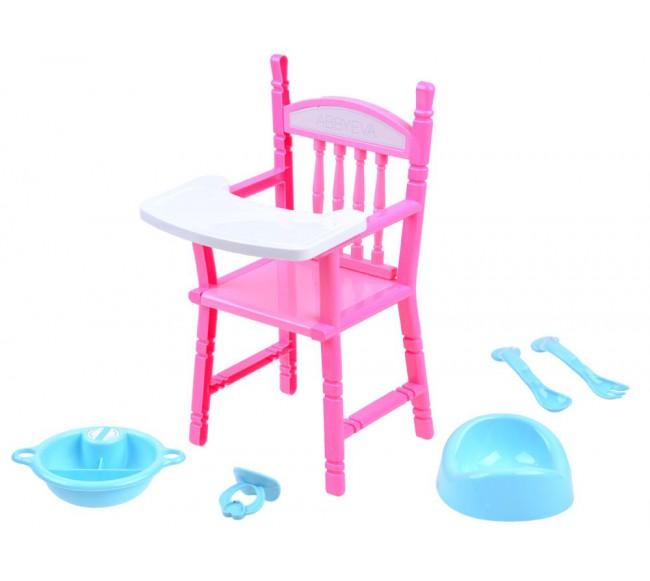 Maitinimo kėdutė lėlei