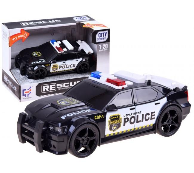 Policijos automobilis su...