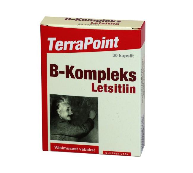 Vitaminų B kompleksas su...