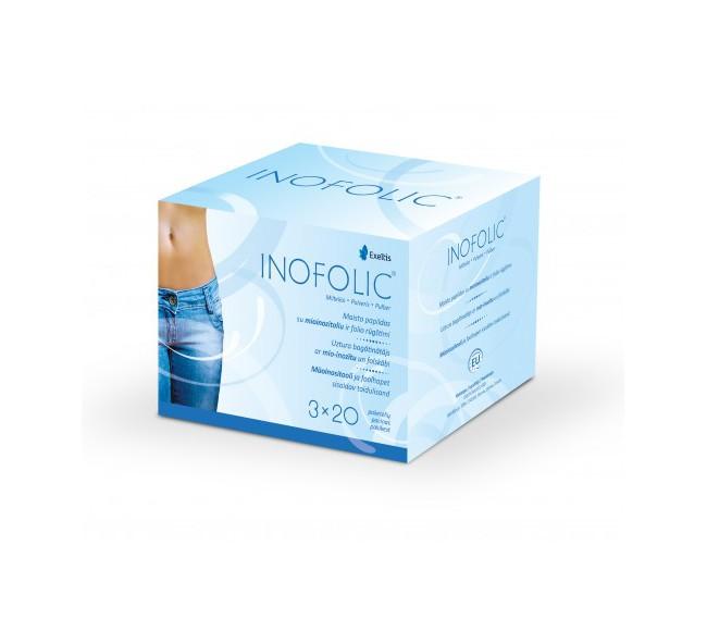 Inofolic paketėliai N60