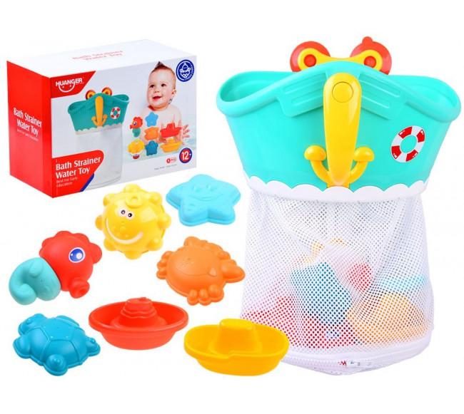 Spalvingi vonios žaisliukai