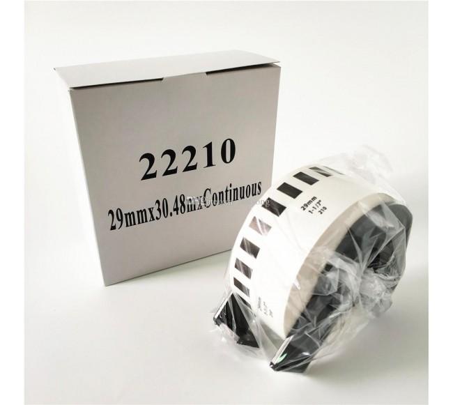 Analoginės etiketės DK22210...
