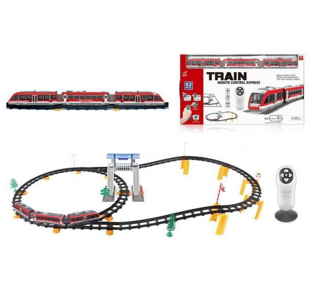 Traukinio bėgiai, 62 elementai