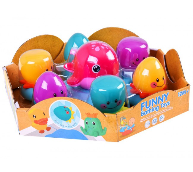 """Vonios žaislas """"Banginis su..."""