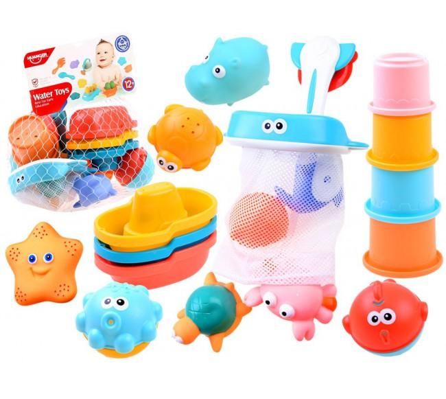 Vonios žaislų rinkinys