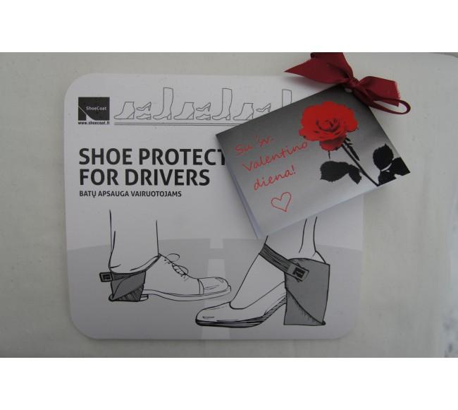 Raudonos batų apsaugos BATŲ...