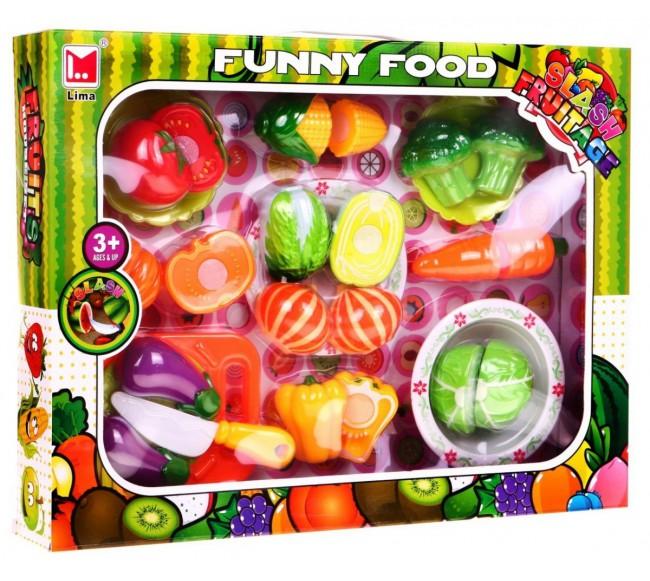 Žaislinių daržovių rinkinys...