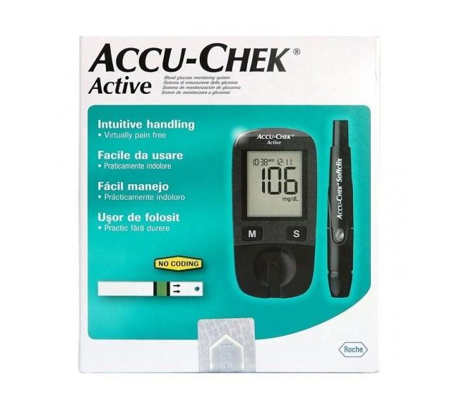 Accu-Chek Active gliukometras