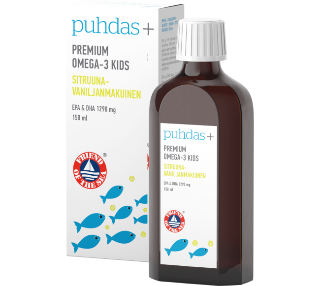Puhdas+ PREMIUM omega-3...