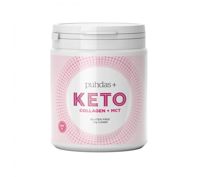 Puhdas+ KETO kolagenas ir MCT