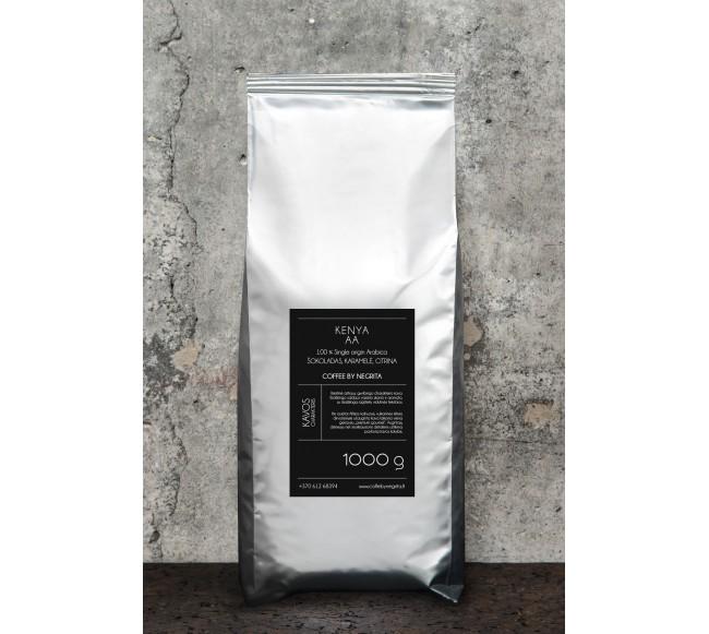 Kavos pupelės KENYA AA
