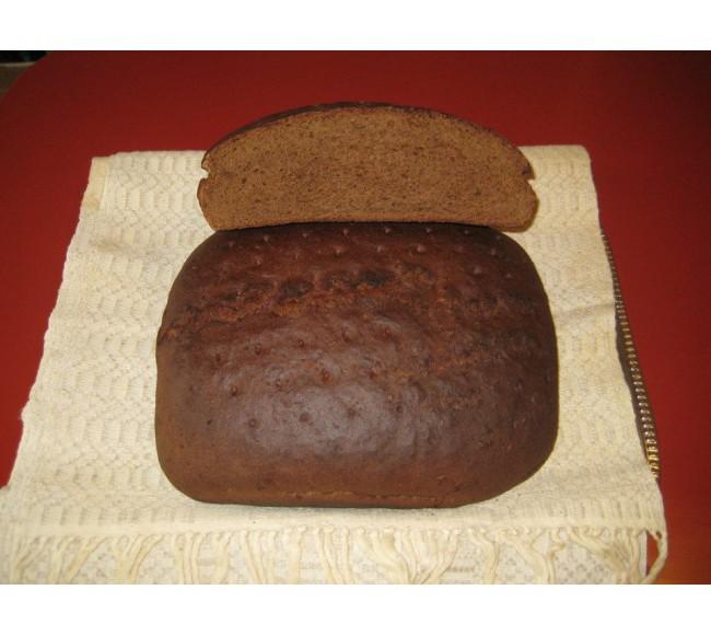 Juoda ruginė plikyta duona...