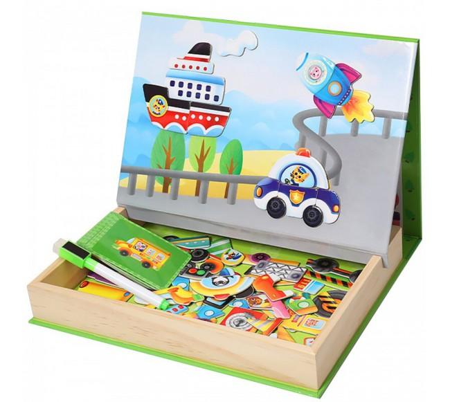 Dėžutė su magnetukais...