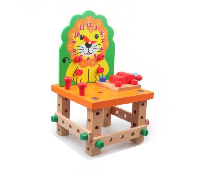Konstravimo rinkinys  Kėdė...