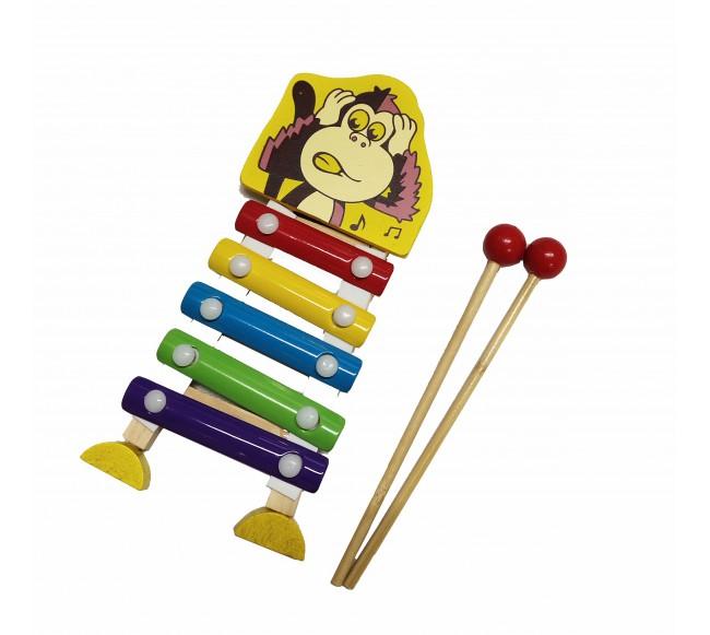 Mažas medinis ksilofonas...