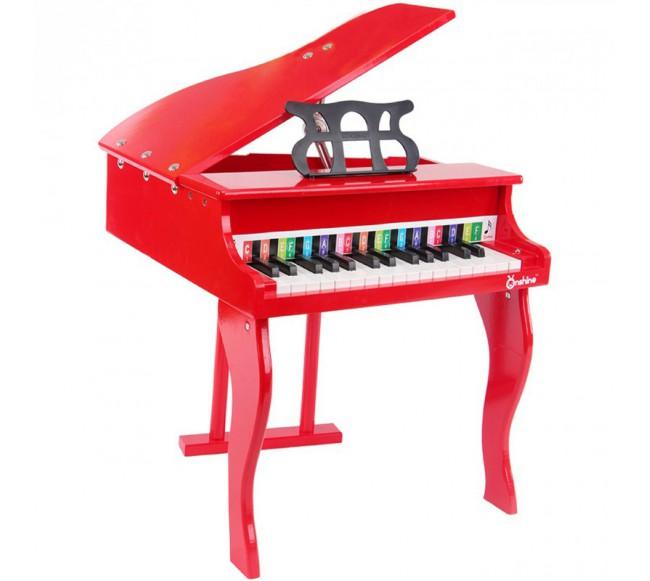 Medinis vaikiškas pianinas...