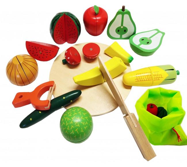 Medinis vaisių ir daržovių...