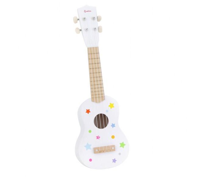 Medinė vaikiška gitara...