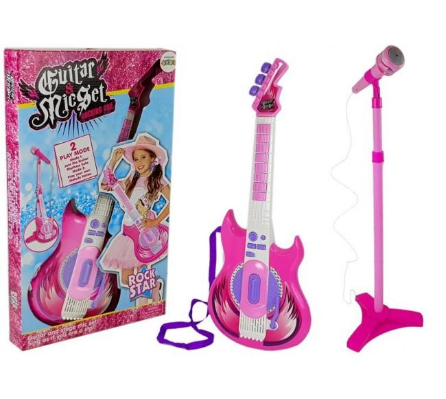 Gitara su mikrofonu  Rock...