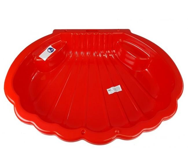 Smėlio dėžė, raudona