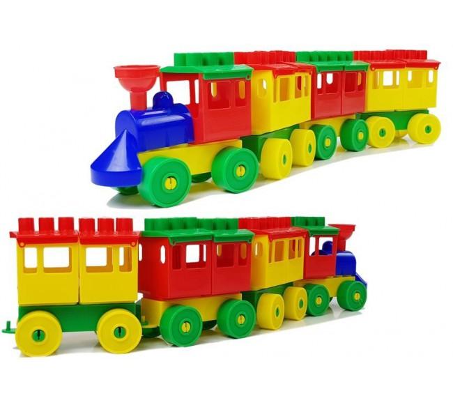 Traukinukas su nuimamais...