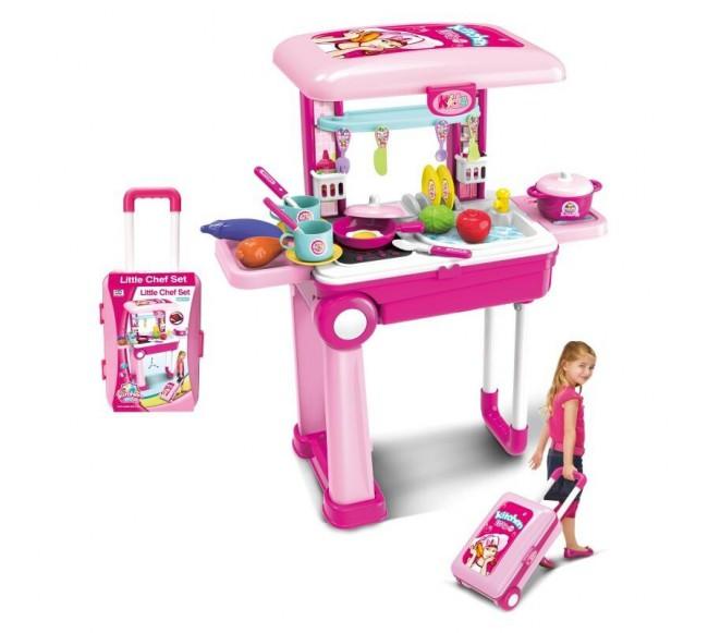 Vaikiška virtuvė lagamine,...