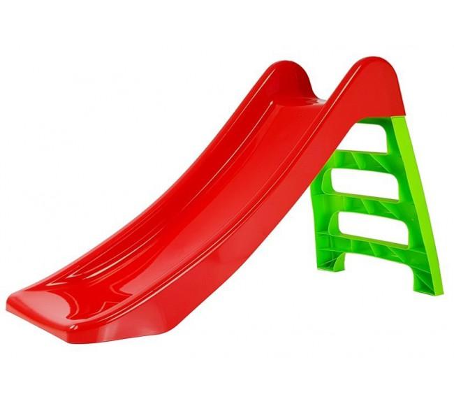 Vaikiška čiuožykla, raudona