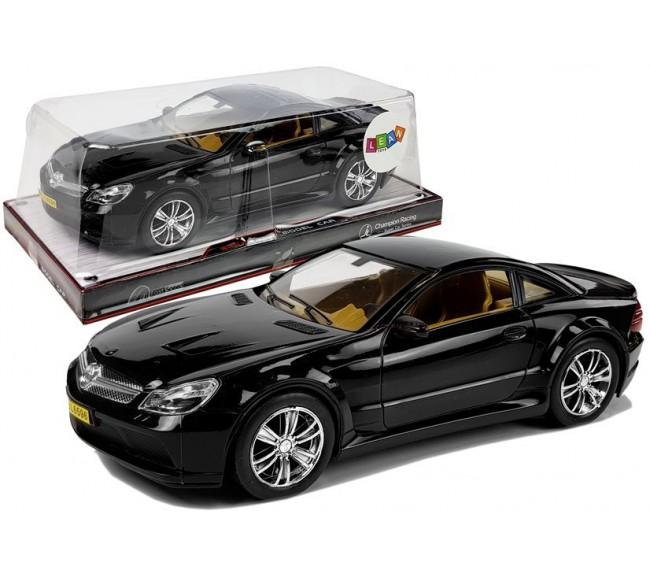 Žaislinis automobilis, juodas