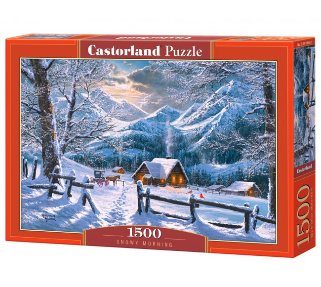 Dėlionė Castorland  Snowy...
