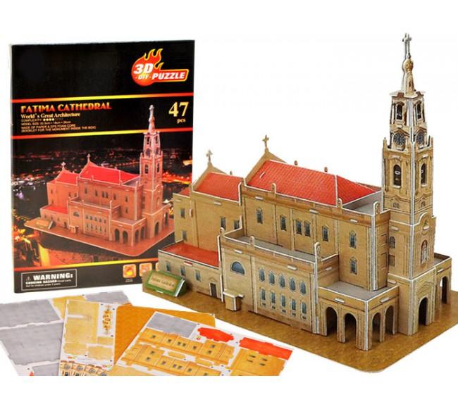 3D dėlionė  Fatimos Bazilika