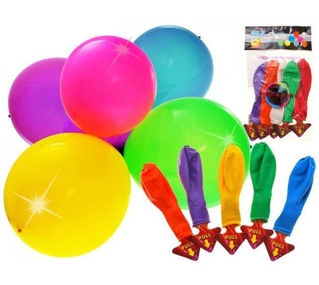 LED balionų rinkinys
