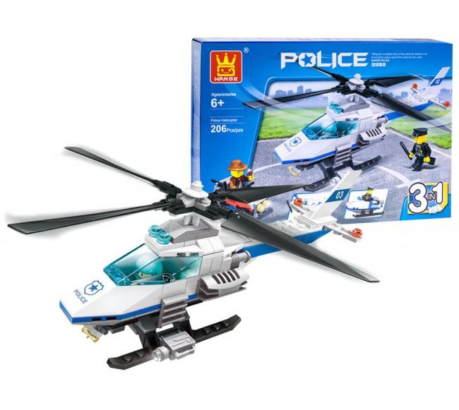 Policijos sraigtasparnio...